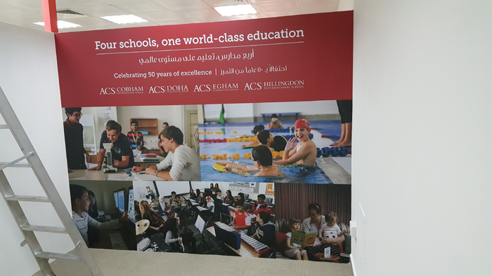 DCS American School - GARAFA Clouds Interiors