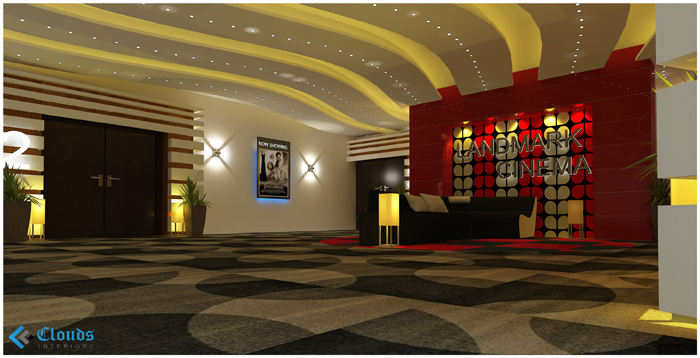 Landmark Cinemas Clouds Interiors