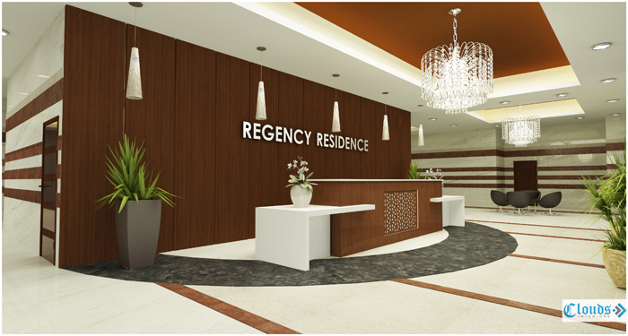 REGENCY RESIDENCY LOBBY Clouds Interiors